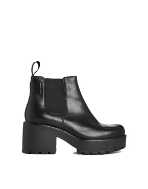 Vagabond | Vagabond Leather Dioon Chelsea Ankle Boots at ASOS