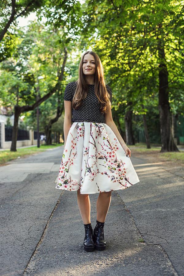 iemmafashion skirt top shoes socks jewels