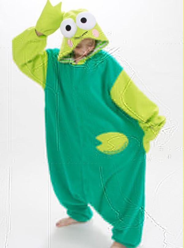 jacket keroppi kigurumi onesies animal onesies