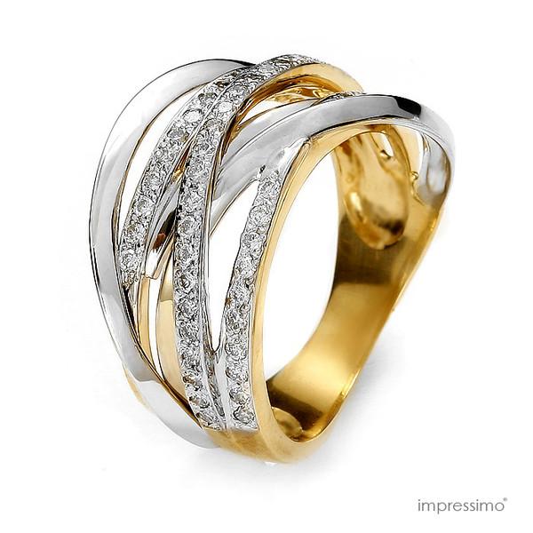 jewels impressimo 50 diamonds pierścionek 50 brylantów pierścionki impressimo handmade ring jewelry