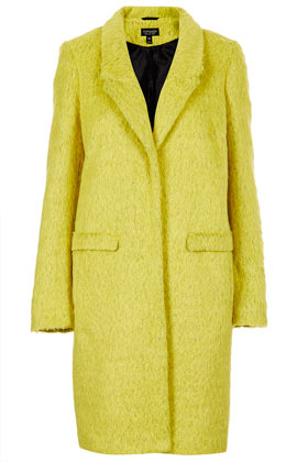 Fluffy Boyfriend Coat - Jackets & Coats  - Clothing  - Topshop