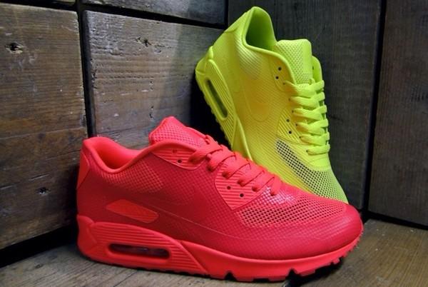shoes nike air neon nike air max 90 hyperfuse bag nike air max 90 hyperfuse solar red nike air max 90 yellow