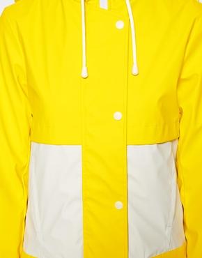 ASOS   ASOS Block Rain Coat at ASOS