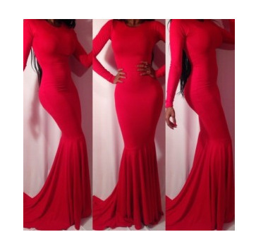 new Womens Celebrity MAXI dress Ladies hollow out sexy party white/RED bandage dress Backless prom mermaid long lace Dress-in Dresses from Apparel & Accessories on Aliexpress.com