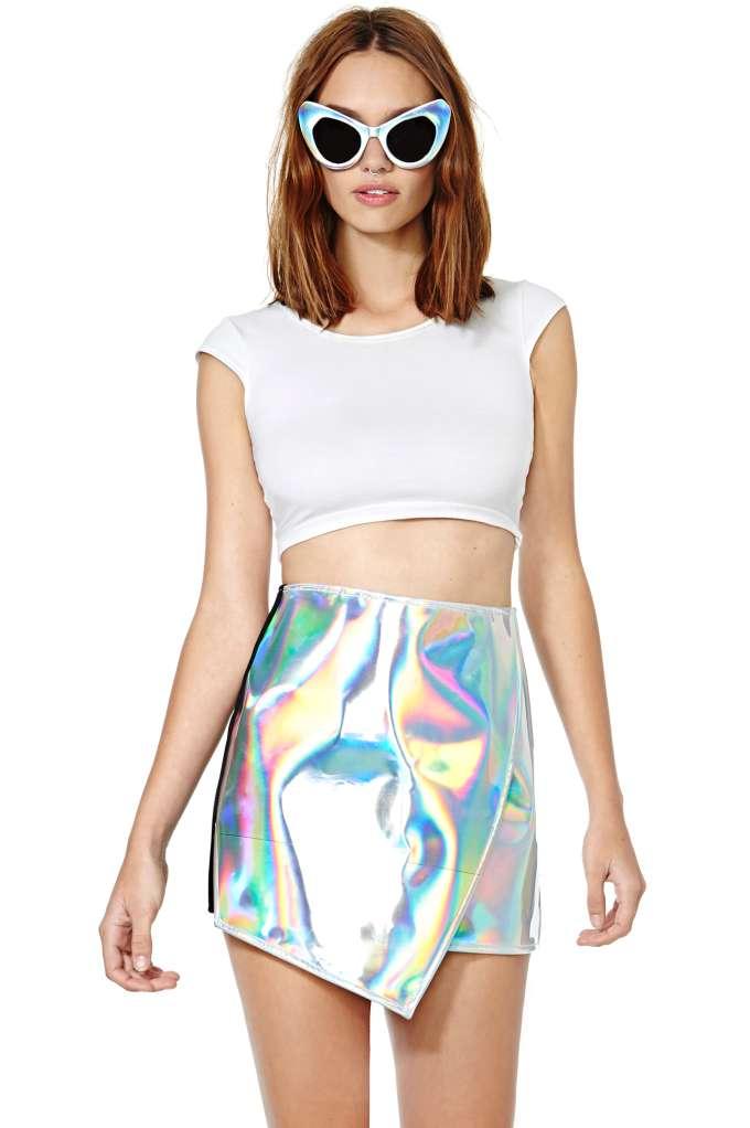 UNIF Meta Skirt at Nasty Gal