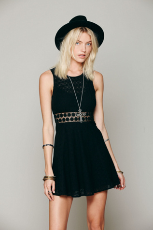 free people womens fitted with daisies dress