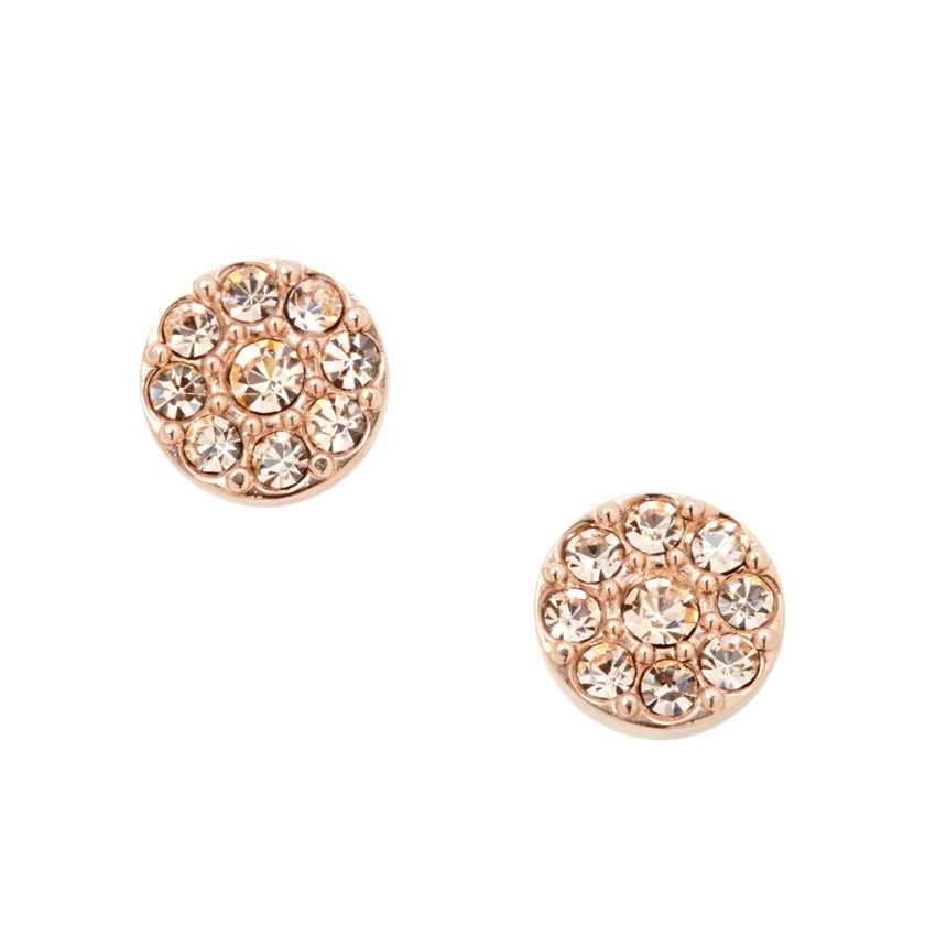 Fossil Disc Studs- Rose JF00830 | FOSSIL®