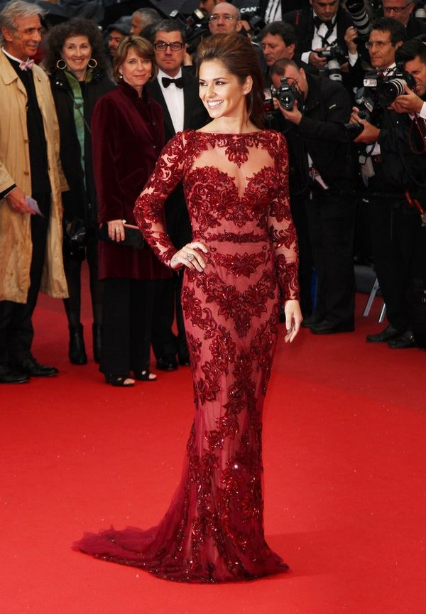 dress red dress long red dress red burgundy burgundy dress cheryl cole