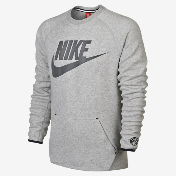 Nike FB NYC Tech Fleece Crew Men's Sweatshirt. Nike Store