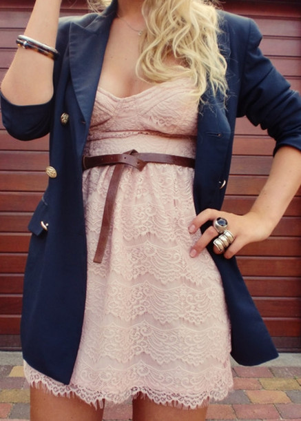 pink dress brown dress jacket dress pink lace dress corset