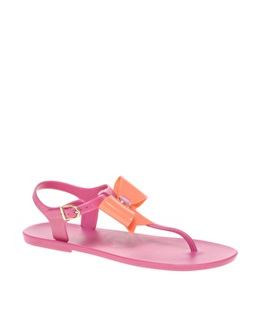 Ted Baker | Ted Baker Aster Flat Sandal With Bow at ASOS