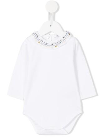 body girl embroidered white underwear