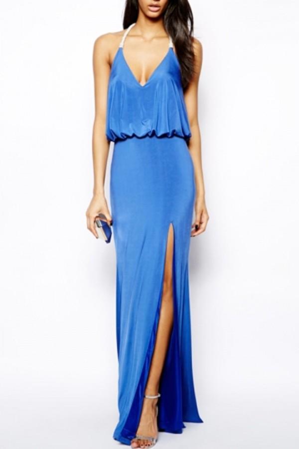 dress persunmall persunmall dress blue blue dress