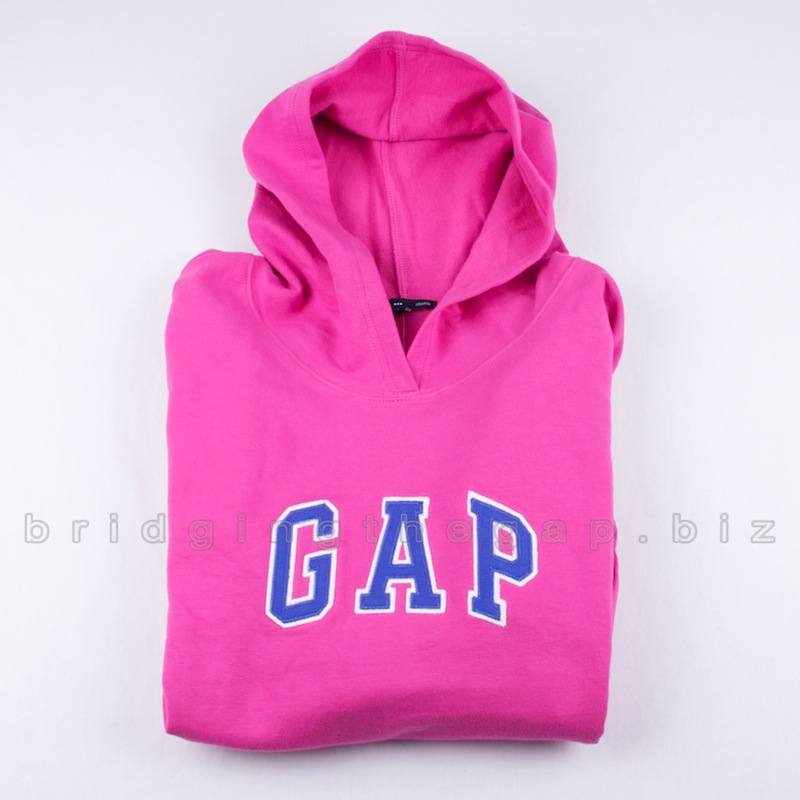 GAP WOMENS LOGO HOODIE SWEATSHIRT SWEATER PULLOVER PULL OVER JUMPER