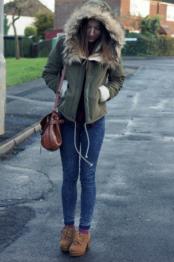 coat romwe navy green