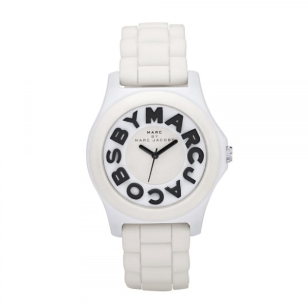 jewels white rubber watch marc jacobs watch marc jacobs white watch rubber watch