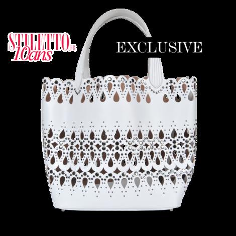 Alaia Exclusive leather bag  - MONNIER Frères