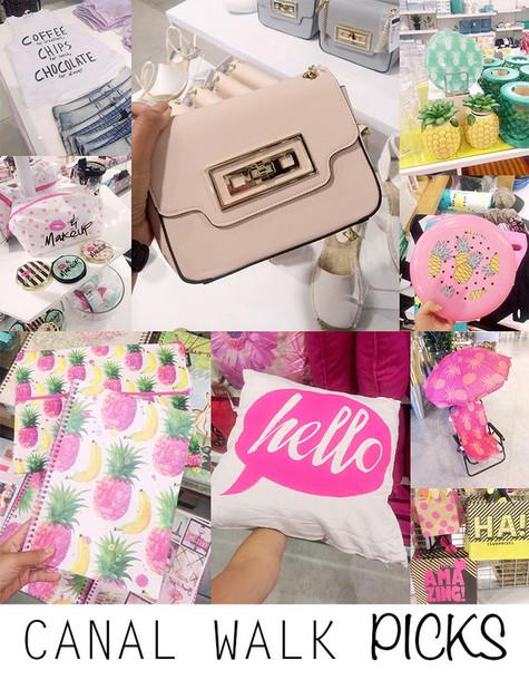 superficial girls blogger pineapple print baby pink pillow notebook