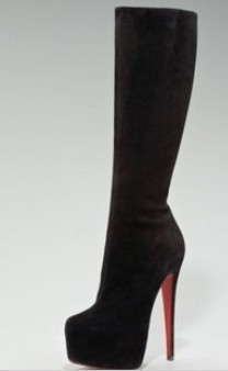 Fashion New Designer Elastic Over the Knee Thermal Long Boots repair two ways high heeled shoes W69 Black apricot High Heel pump-inBoots from Shoes on Aliexpress.com