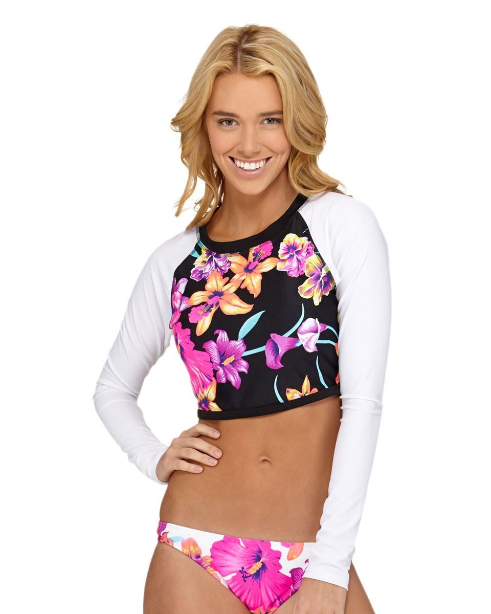 ROXY™ Ladies Spring Fling Long Sleeve Rash Vest