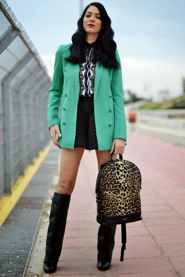 serial klother jacket shorts shoes blouse