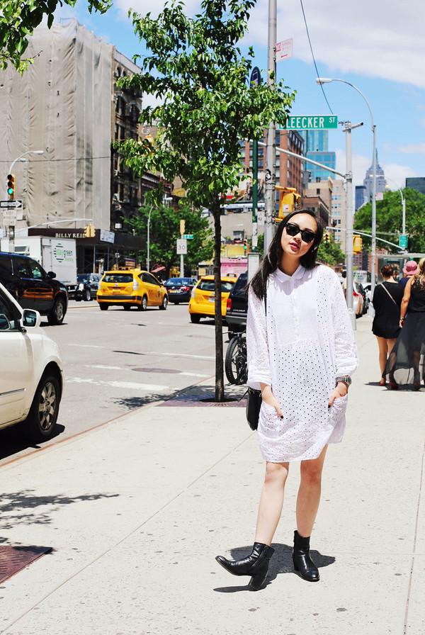 elle victoire dress shoes bag sunglasses