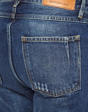 Won Hundred | Won Hundred Natalie Boyfriend Jeans in Medium Blue at ASOS