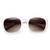 Womens Retro Colorful Pastel P3 Horned Rim Keyhole Wayfarer Sunglasses                           | zeroUV