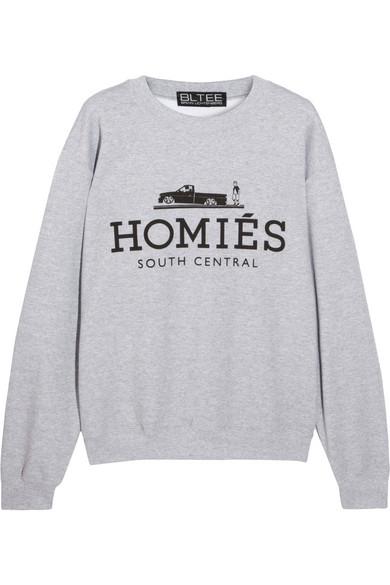 Brian Lichtenberg|Homiés cotton-blend jersey sweatshirt|NET-A-PORTER.COM