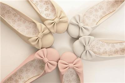 Womens Ballet Flats Bowed Ballerina Casual Work Shoes | eBay