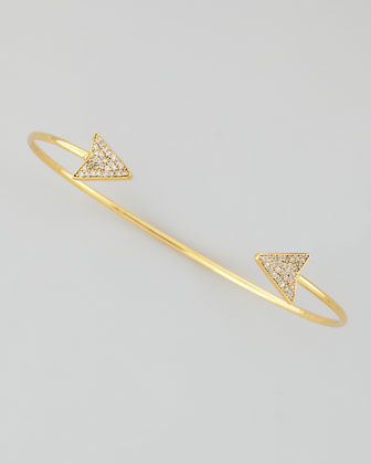 Tai Arrow Pinch Bracelet