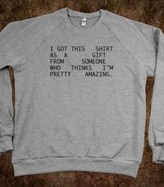 I'm Pretty Amazing - Fancy Inu - Skreened T-shirts, Organic Shirts, Hoodies, Kids Tees, Baby One-Pieces and Tote Bags Custom T-Shirts, Organic Shirts, Hoodies, Novelty Gifts, Kids Apparel, Baby One-Pieces | Skreened - Ethical Custom Apparel