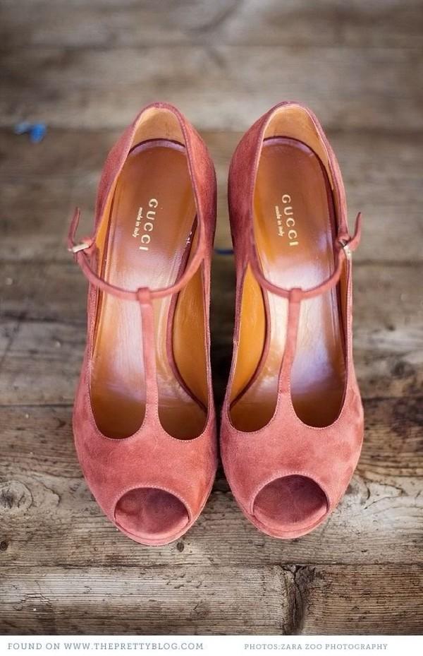 shoes gucci pumps heels pink suade