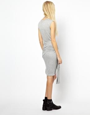 LNA | LnA Dress With Wrap Detail at ASOS