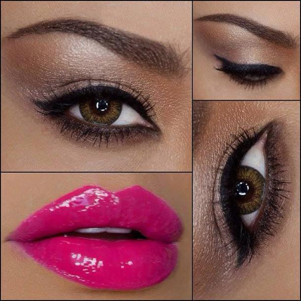 make-up lips lip gloss