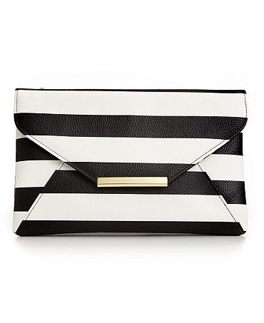 Stlye&co. Lily Envelope Striped Clutch - Handbags & Accessories - Macy's