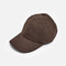 Brown suede baseball cap – sold out store