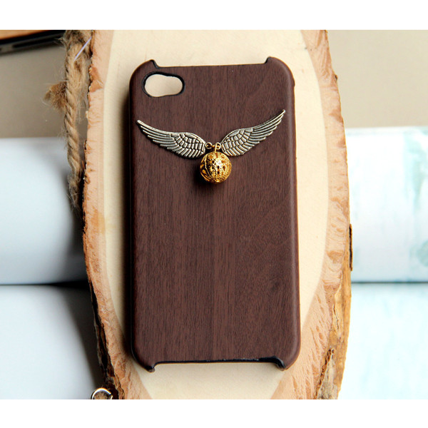 Harry Potter Enchanted Steampunk Golden snitch iPhone 4 Case... - Polyvore