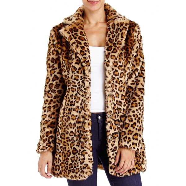 Leopard Faux Fur Coat - 2b - Polyvore