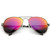 Premium Retro Metal Frame Flash Revo Mirrored Lens Aviator Sunglasses                            | zeroUV