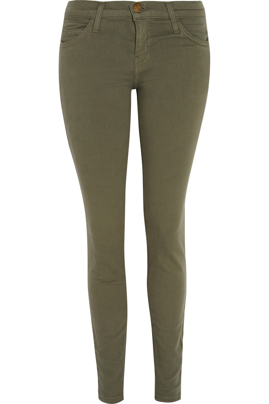 The Ankle mid-rise skinny jeans | Current/Elliott | THE OUTNET