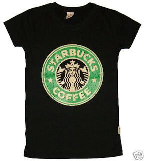 LS Fashion Shop: Ladies Starbucks Shirt