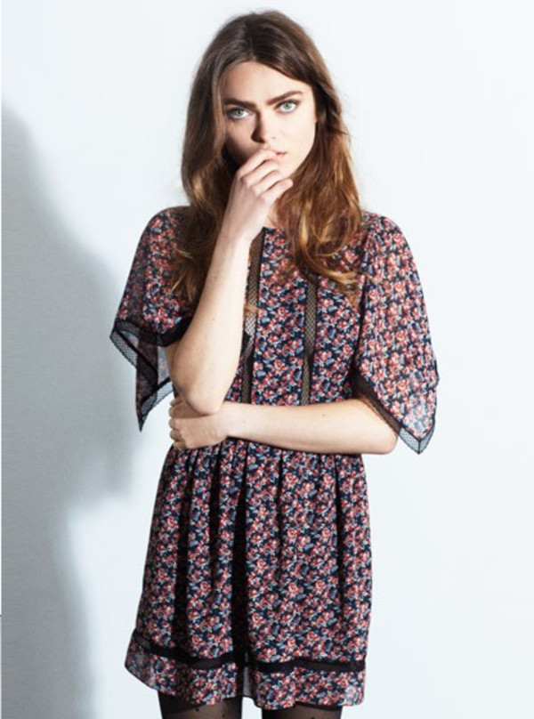 dress claudie pierlot fashion lookbook
