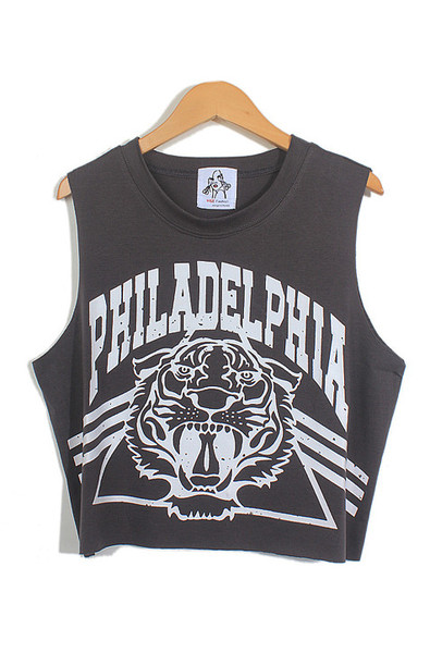 Philly Roar Crop Top | Outfit Made
