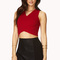 Night moves textured crop top | forever21 - 2000127009
