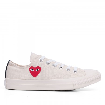 New Play Converse All Star (White) | Footwear | Play | Comme Des Garçons