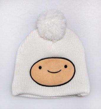 Amazon.com: Adventure Time Finn Face Knit Beanie: Clothing