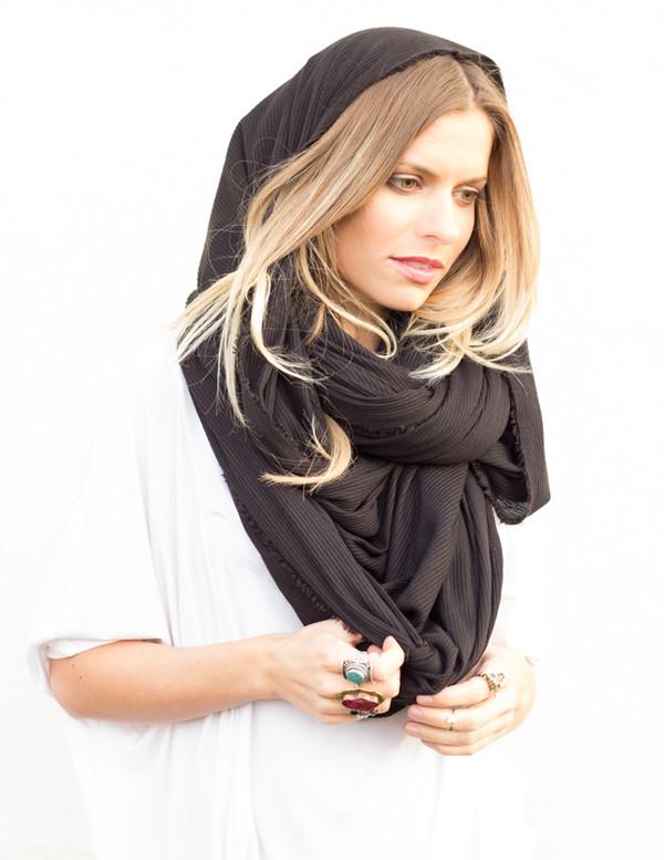 scarf infinity scarves oversized chunky