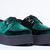 T.U.K. Mondo Creeper in Green Velvet at Solestruck.com
