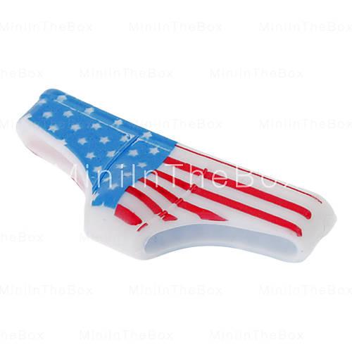 EUR € 0.93 - Grappig Ontworpen Amerikaanse vlag patroon Driehoek Pants Shape Home Button voor iPhone 4/4S/5/5S ea, Gratis Verzending voor alle Gadgets!